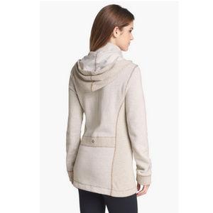 PrAna Wool Blend Hooded Jacket